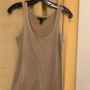 H&M gold tank top